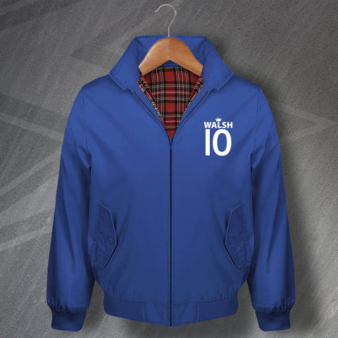 Walsh 10 Football Harrington Jacket Embroidered