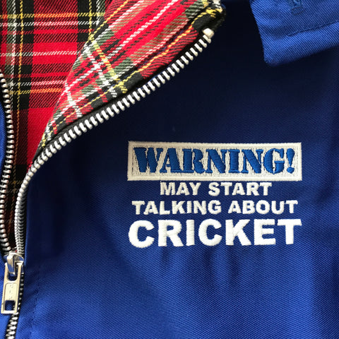 Cricket Embroidered Badge
