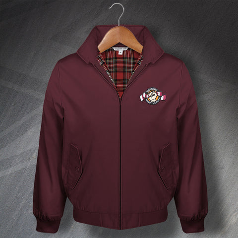 Warriors Keep The Faith Embroidered Classic Harrington Jacket