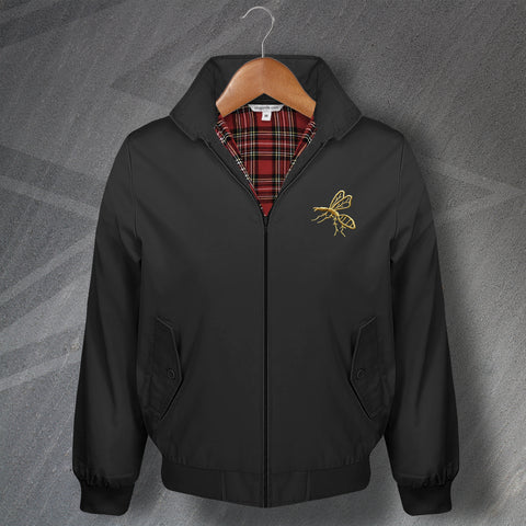 Wasps Rugby Harrington Jacket Embroidered 1867