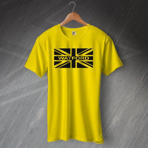 Watford Flag Shirt with Union Jack