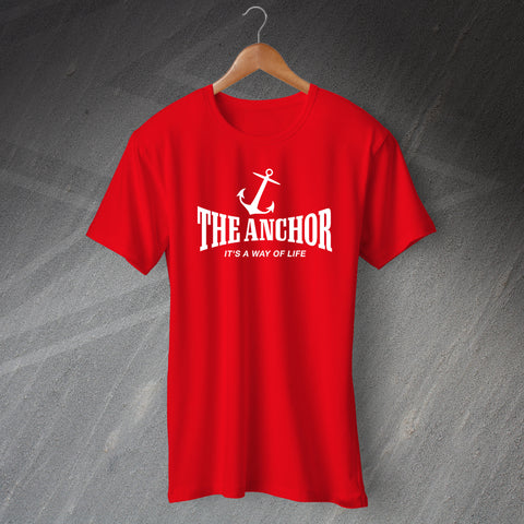 Personalised Pub It's a Way of Life T-Shirt with any Pub Name & Silhouette
