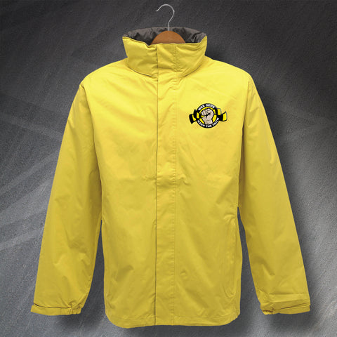 Berwick Football Jacket Embroidered Waterproof Wee Gers Keep The Faith
