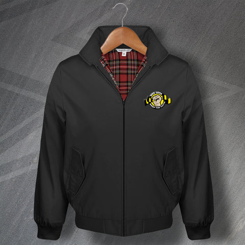 Berwick Football Harrington Jacket Embroidered Wee Gers Keep The Faith
