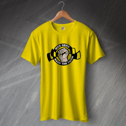 Berwick Football T-Shirt Wee Gers Keep The Faith