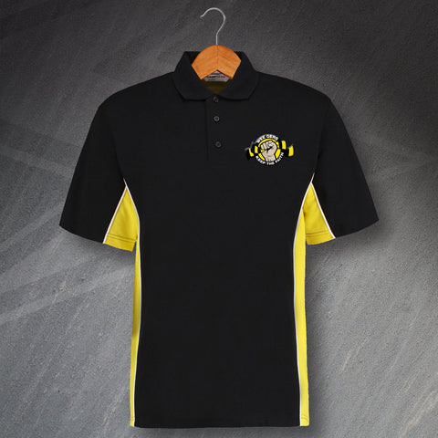 Berwick Football Polo Shirt Embroidered Track Wee Gers Keep The Faith