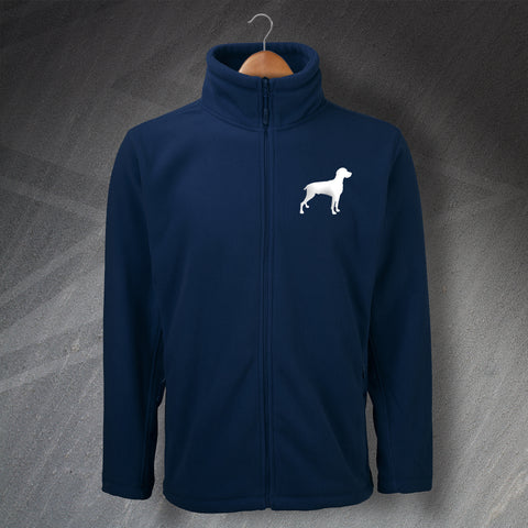 Weimaraner Fleece Embroidered