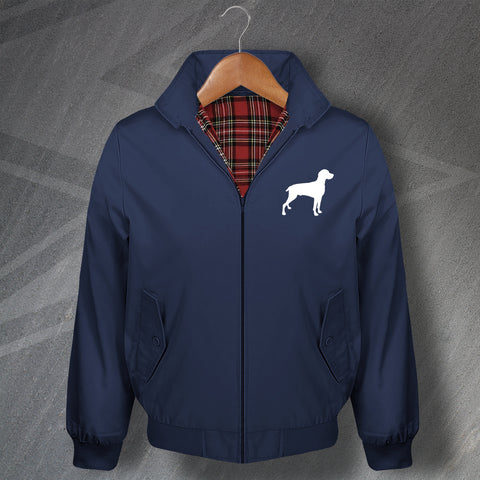 Weimaraner Harrington Jacket Embroidered
