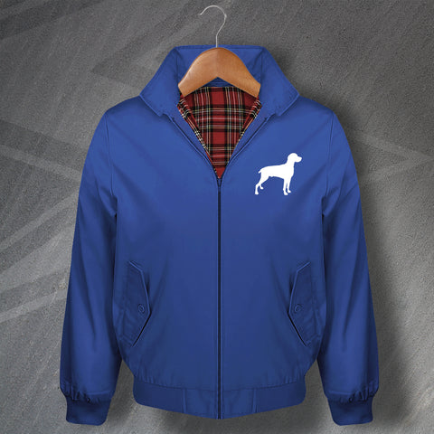 Weimaraner Harrington Jacket