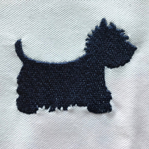 West Highland White Terrier Badge