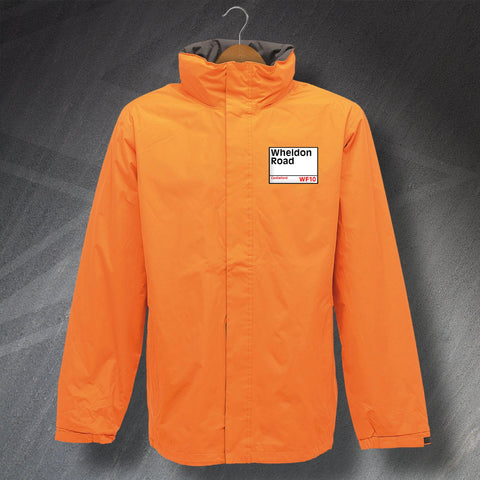 Castleford Rugby Jacket Embroidered Waterproof Wheldon Road