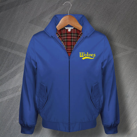 Warrington Rugby Harrington Jacket Embroidered Wolves