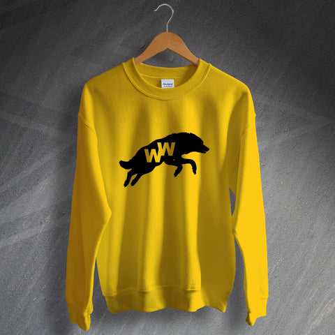 Wolves Football Sweatshirt 1970s