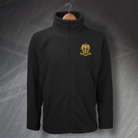 Retro Wolves Fleece with Embroidered 1921 Badge