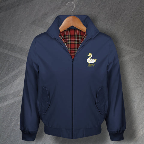 Wycombe Football Harrington Jacket Embroidered Centenary