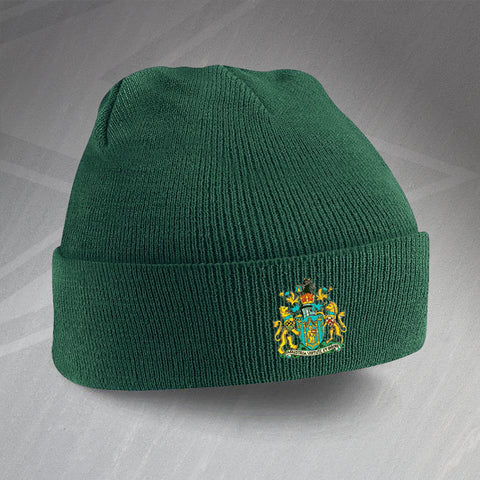 Yeovil Football Beanie Hat Embroidered 1949