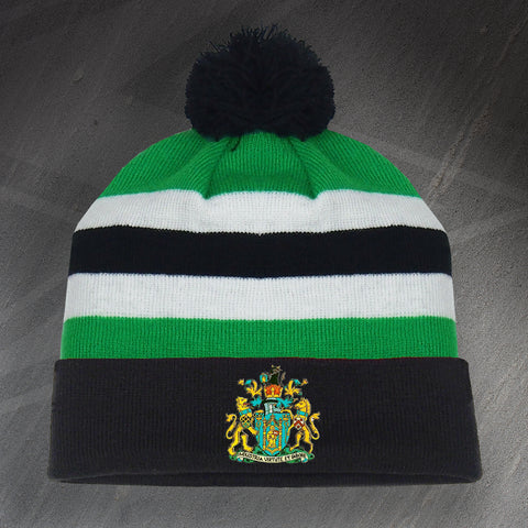 Yeovil Football Bobble Hat Embroidered 1949