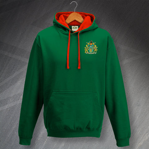 Yeovil Football Hoodie Embroidered Contrast 1949