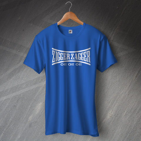 Chelsea Football T-Shirt Zigger Zagger