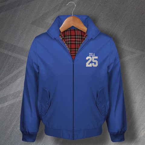Zola 25 Football Harrington Jacket Embroidered