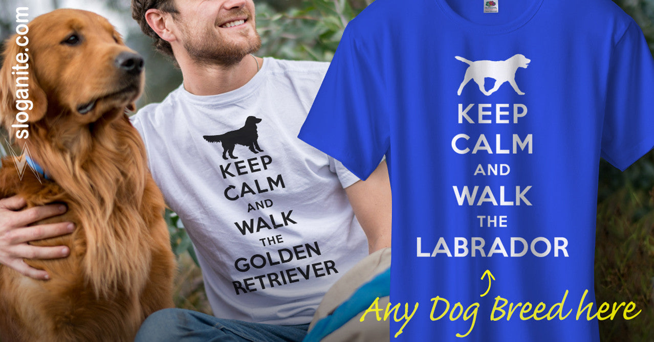 Personalised Dog Owner T-Shirts