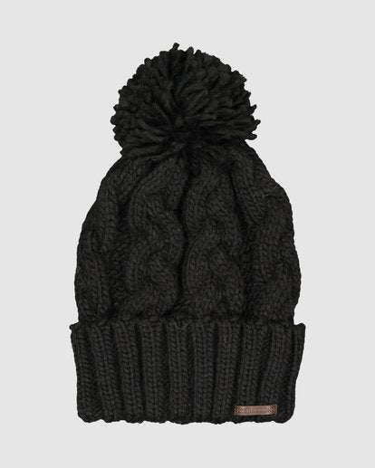 COZY UP BEANI-BLK