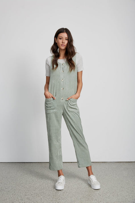 Cord overalls - Mint