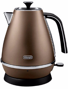 De Longhi KBI3001.BZ Bronze Distinta Cordless Kettle -