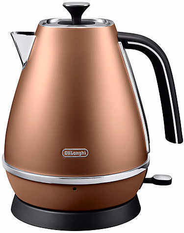 De Longhi KBI3001.CP Copper Distinta Cordless Kettle -