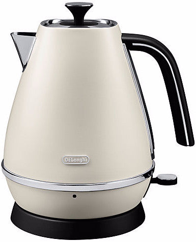 De Longhi KBI3001.W White Distinta Cordless Kettle -