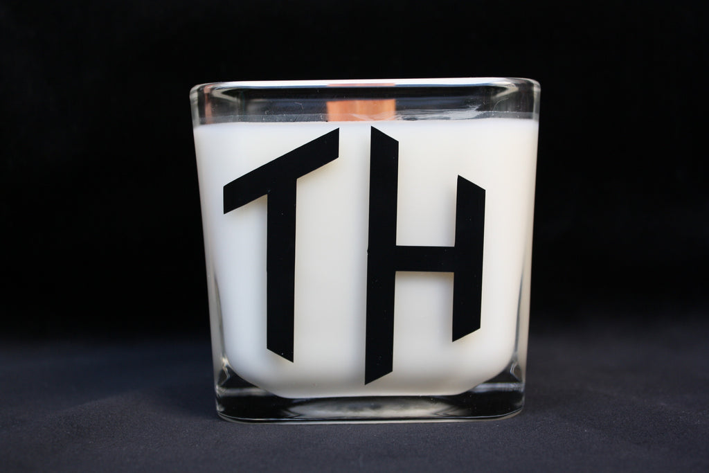 Monogram Candle - 2 Initials - High Cotton Candle Company, LLC