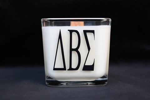 Monogram Candle- Greek