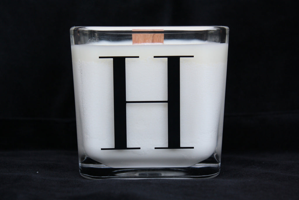 Monogram Candle - Single Initial - High Cotton Candle Company, LLC