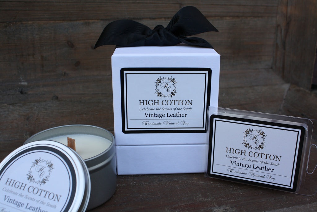 Vintage Leather™ - High Cotton Candle Company, LLC