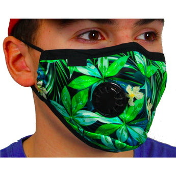 Air Filter Mask - ethentic Flower Design