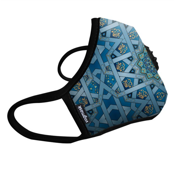 Air Filter Mask - Vogmask Chakra Design - Single Valve