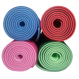 "Exercise Yoga Mat 1/2"" Thick and Dual Sided"