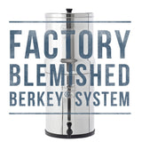 Factory Blemished Travel Berkey Water Filter System