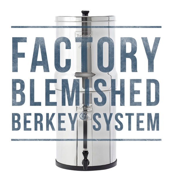 Factory Blemished Royal Berkey Water Filter System