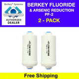 Berkey Fluoride Filters (PF-2) - Authorized Dealer - Free Shipping