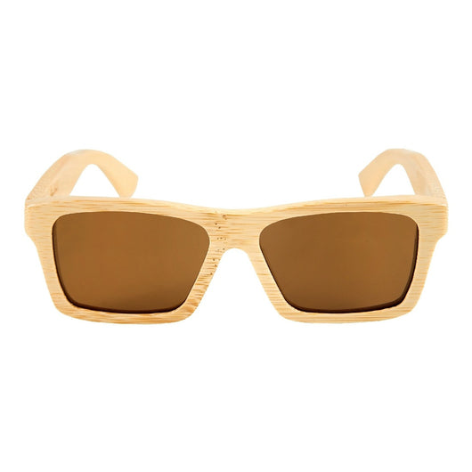 Natural Bamboo Sunglasses with Polarized Lens