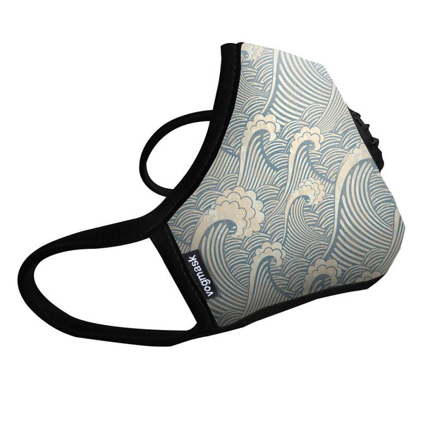 Air Filter Mask - Vogmask Waves Design - Single Valve