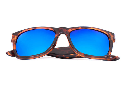 BALOS, Light Tortoise - Blue Mirror - Scapes Sunglasses - 1