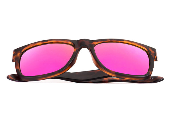 ELAFONISI Light Tortoise - Pink Mirror - Scapes Sunglasses - 1