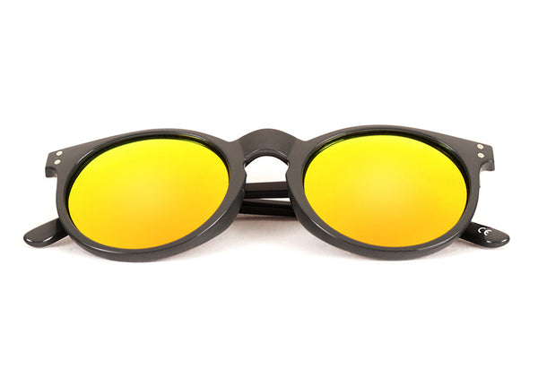 ETNA Grey  - Yellow/Orange Mirror - Scapes Sunglasses - 1