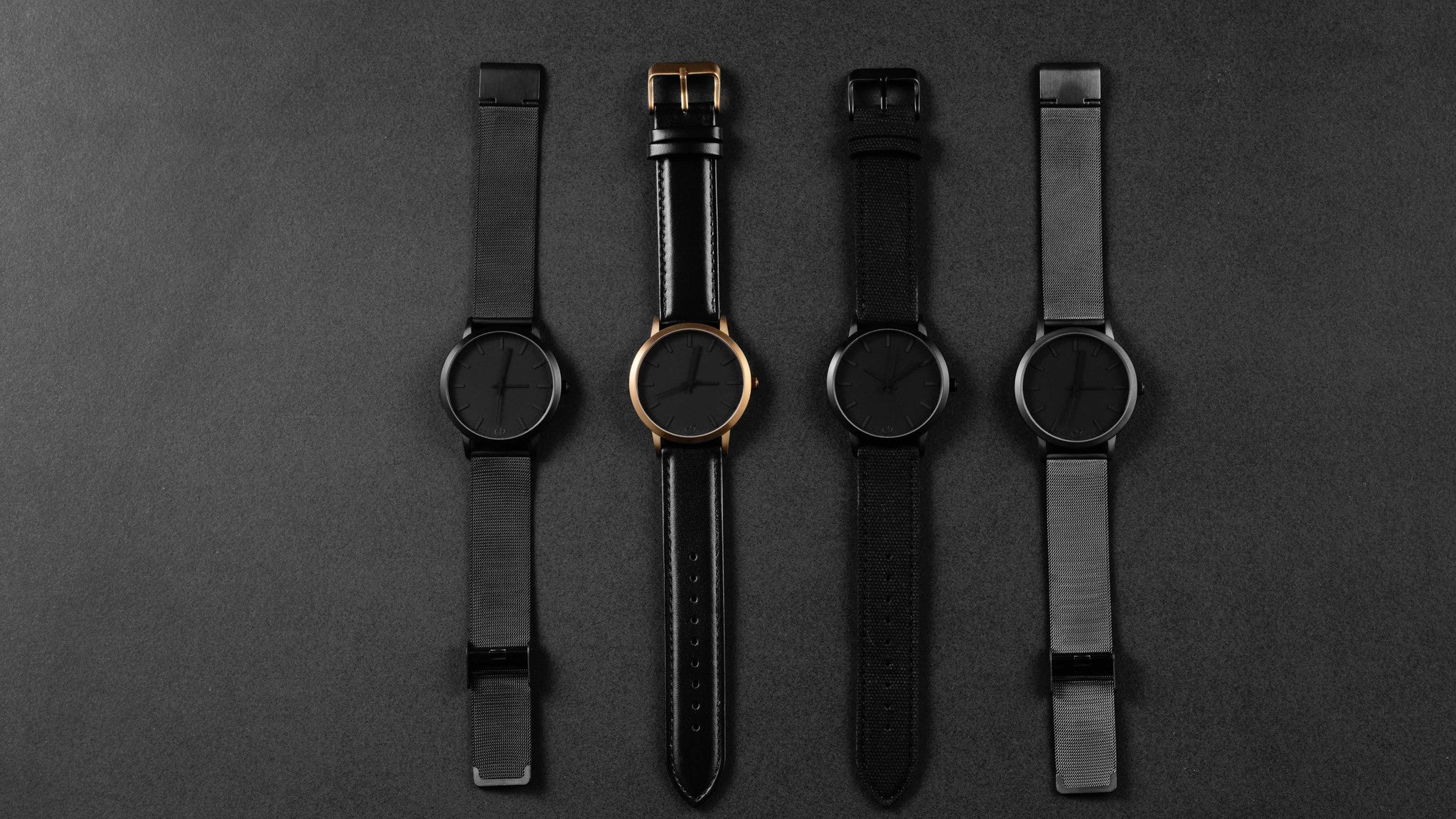 All black watch