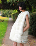Plus Size Faux Fur Gilet