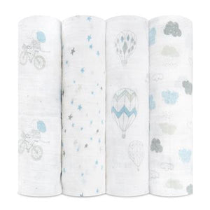 Aden & Anais Muslin Swaddles-Night Sky Reverie