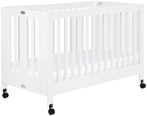 Babyletto Maki Full-Size Portable Folding Crib w/Toddler Conversion Kit