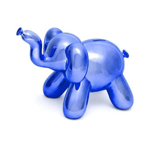 Balloon Money Bank-Blue Elephant